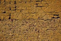 Manière des murs de boue d'adobe de St James à Palencia Photo stock