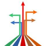 Manière différente Infographics Images libres de droits