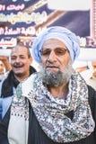 Manière Rifai Sufi Egypte de célébrations Photographie stock libre de droits