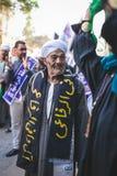 Manière Rifai Sufi Egypte de célébrations Photos stock