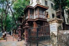 Mani Bhavan Gandhi Sangrahalaya Museum i Mumbai, Indien arkivfoton