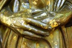 Mani bronzee Immagini Stock