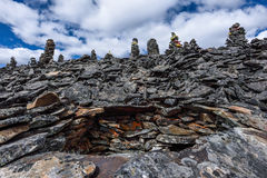 Mani cairn Stock Photography