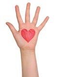 Mani che indicano con i dito indice a qualcosa fotografie stock libere da diritti
