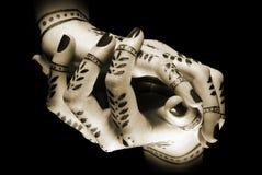Mani con il tatuaggio orientale Fotografie Stock Libere da Diritti