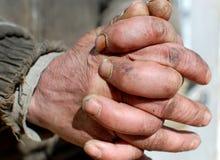 Mani degli uomini Immagini Stock