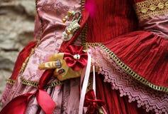 Mani del ` s delle donne in guanti Fotografia Stock Libera da Diritti