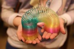 Mani dell'arcobaleno del giocattolo Immagini Stock