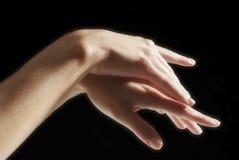 Mani della donna Fotografie Stock