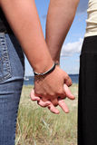 Mani della holding Fotografia Stock Libera da Diritti