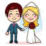 Mani della holding della coppia sposata Immagini Stock Libere da Diritti