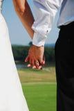 Mani di nozze Fotografia Stock Libera da Diritti