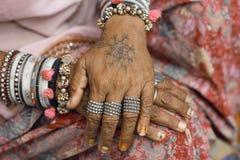 Mani delle donne Fotografia Stock