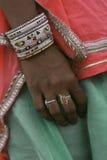 Mani delle donne indiane Immagine Stock Libera da Diritti