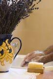 Mani di lavaggio Fotografia Stock