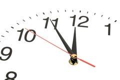 Mani di orologio Fotografia Stock