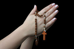 Mani di preghiera #3 Fotografie Stock Libere da Diritti