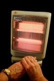 Mani di riscaldamento Immagine Stock