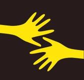 Mani di vettore Immagini Stock