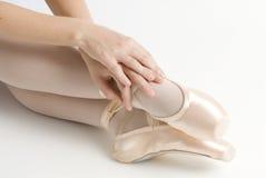 Mani e piedi Fotografia Stock