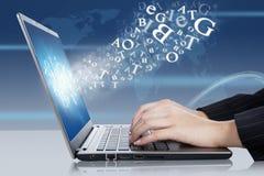 Affare online Immagini Stock Libere da Diritti