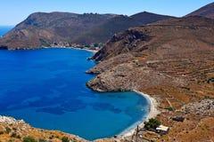 Mani, Greece. Porto-Kagio at cape Tenaro in Mani, Greece Stock Images