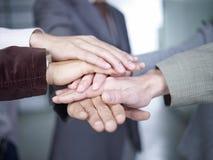 Mani insieme Fotografie Stock