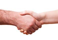 Mani maschii e femminili immagini stock libere da diritti