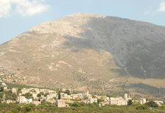 Mani Peninsula Greece Fotografie Stock Libere da Diritti