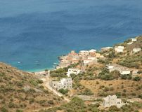 Mani Peninsula Greece Immagini Stock