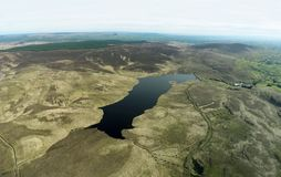 Mani?re Glenariff Antrim Irlande du Nord de Dungonnell de barrage de Dungonnell photos libres de droits