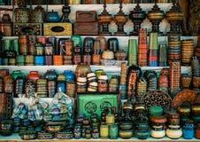 Mani-Sithu Market in Nyaung U, Myanmar & x28;Burma& x29;. Lacquerware souvenir selling at Mani Sithu Market in Nyaung-U village, Bagan, Myanmar & x28;Burma& x29 royalty free stock photos