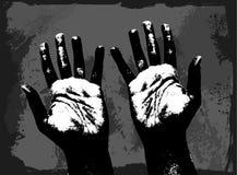 Mani umane Immagine Stock Libera da Diritti