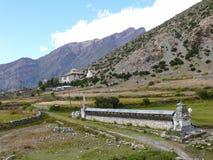 Free Mani Wall In Ngawal Village, Nepal Royalty Free Stock Images - 54480549