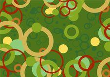 Mania del cerchio royalty illustrazione gratis