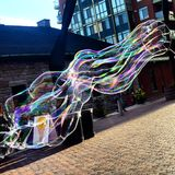 Mania della bolla Fotografia Stock