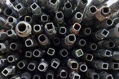 Mania furiosa del tubo del metallo immagini stock
