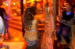 Mania furiosa di pista da ballo Fotografia Stock