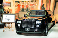 The maniac extended Rolls Royce Phantom Royalty Free Stock Images