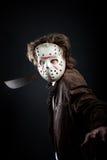 Maniac with machete