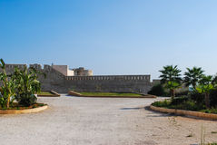 Maniace castle in Syracuse. Sicily Royalty Free Stock Photos
