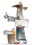 Maniaco stock de ilustración