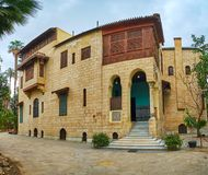 Manial宫殿住所,开罗,埃及 库存图片