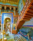 Manial宫殿,开罗,埃及内部  免版税库存图片