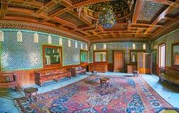 Manial宫殿,开罗,埃及的摩洛哥霍尔 免版税库存图片