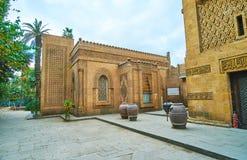Manial宫殿,开罗,埃及石清真寺  免版税库存照片