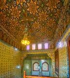 Manial宫殿,开罗,埃及精采大厅  图库摄影