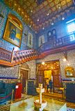 Manial宫殿,开罗,埃及辉煌  免版税库存图片
