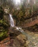 Maniavskii Waterfall. Maniava. Ukraine Royalty Free Stock Images