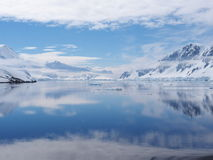 Manica dell'Antartide Neumayer Immagine Stock